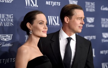 Angelina Jolie and Brad Pitt at the WSJ. Magazine 2015 Innovator Awards - Arrivals