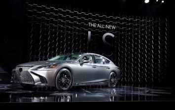 2018 Lexus LS 500h Hybrid