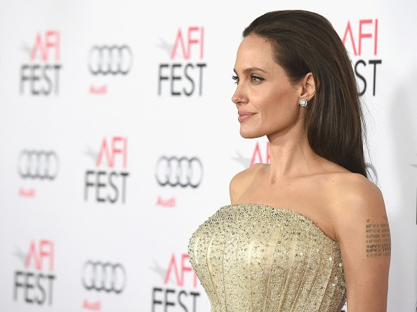 Angelina Jolie at the AFI FEST 2015 Presented By Audi Opening Night Gala Premiere Of Universal Pictures' 'By The Sea' - Arrivals
