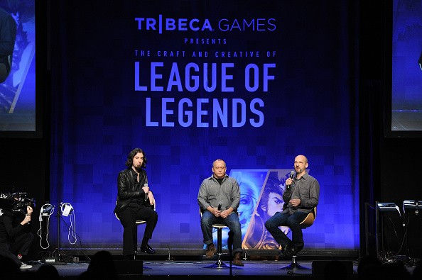 Greg Street and Stone Librande Of Riot Games