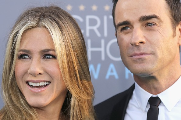 Jennifer Aniston and Justin Theroux at The 21st Annual Critics' Choice Awards - Arrivals
