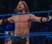 See AJ Styles put Bray Wyatt through a table in slow motion!  Exclusive, Feb. 17, 2017