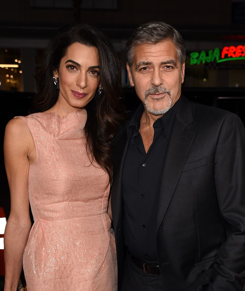 George Clooney Chased Amal After First Meeting; Couple Prepares Designer Nursery For Their Twins