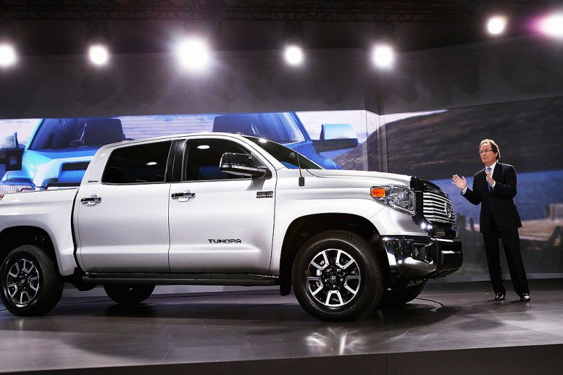 and more aggressive looking variant of the standard Toyota Tundra ...