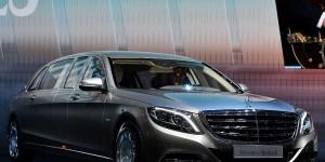 2018 Mercedes-Maybach S600 Pullman Guard