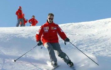 Michael Schumacher Still Can't Walk But Shows Improvement