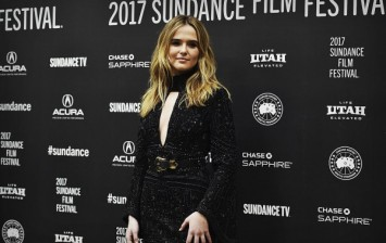 Actress Zoey Deutch attends the premiere of 'Rebel In The Rye' during the Sundance Film Festival