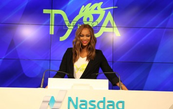 Tyra Banks Rings Nasdaq Closing Bell From the Nasdaq Entrepreneurial Center In San Francisco To Celebrate Center's One-Year Anniversary