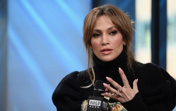 Jennifer Lopez Wears See-Through Jumpsuit