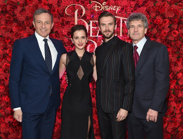 Emma Watson, Dan Stevens, Kevin Kline, Josh Gad, Audra McDonald, Stanley Tucci, Ian McKellen, Bill Condon And Alan Menken Arrive At Alice Tully Hall For The New York Special Screening Of Disney's Live-Action Adaptation 'Beauty And The Beast'