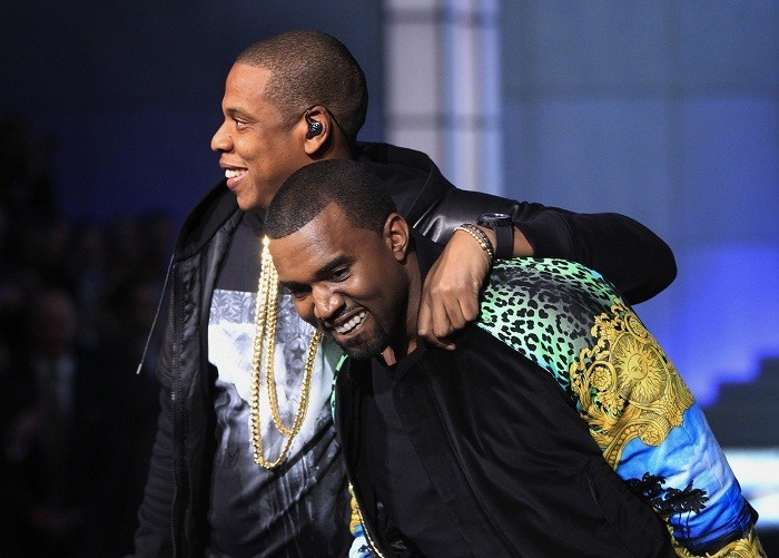 Kanye and Jay-Z