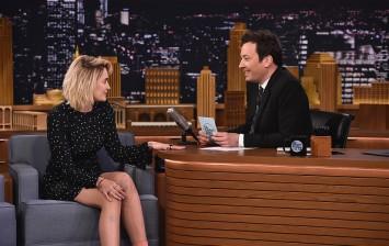 Paris Jackson Visits 'The Tonight Show Starring Jimmy Fallon'