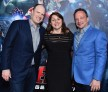 President of Marvel Studios Kevin Feige, executive producers Victoria Alonso and Louis D'Esposito