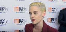 Kristen Stewart's revealing red carpet look