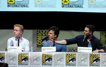 Writers Mark Millar and John S. Romita Jr. and actor Aaron Taylor-Johnson