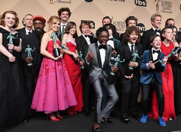 'Stranger Things' cast members