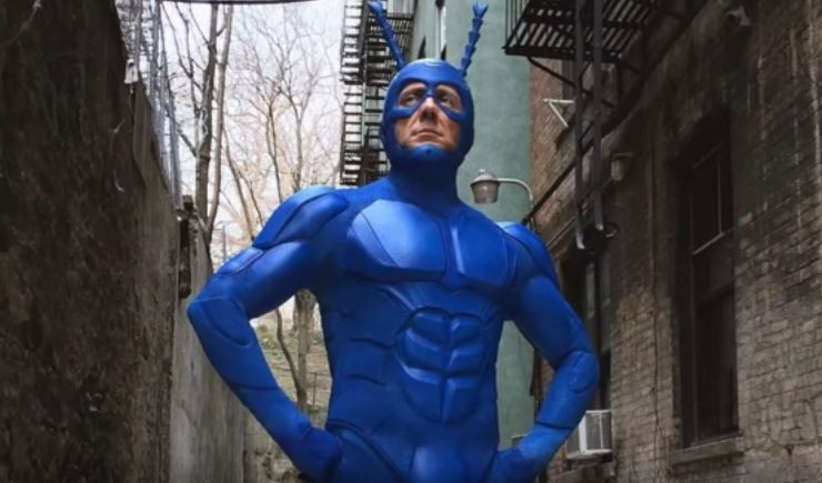 The Tick reboot on Amazon