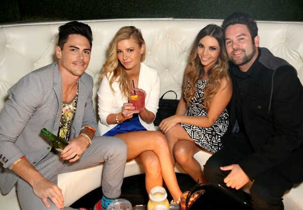 Tom Sandoval, Ariana Madix, Scheana Marie and Mike Shay