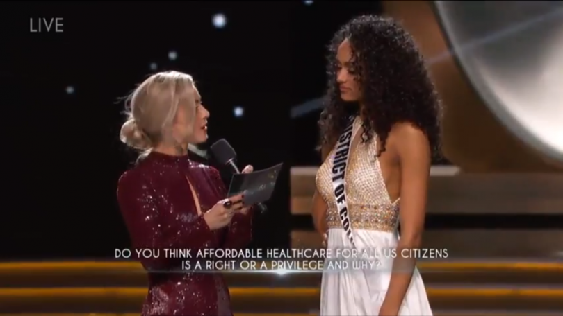 Miss USA Answering Questions