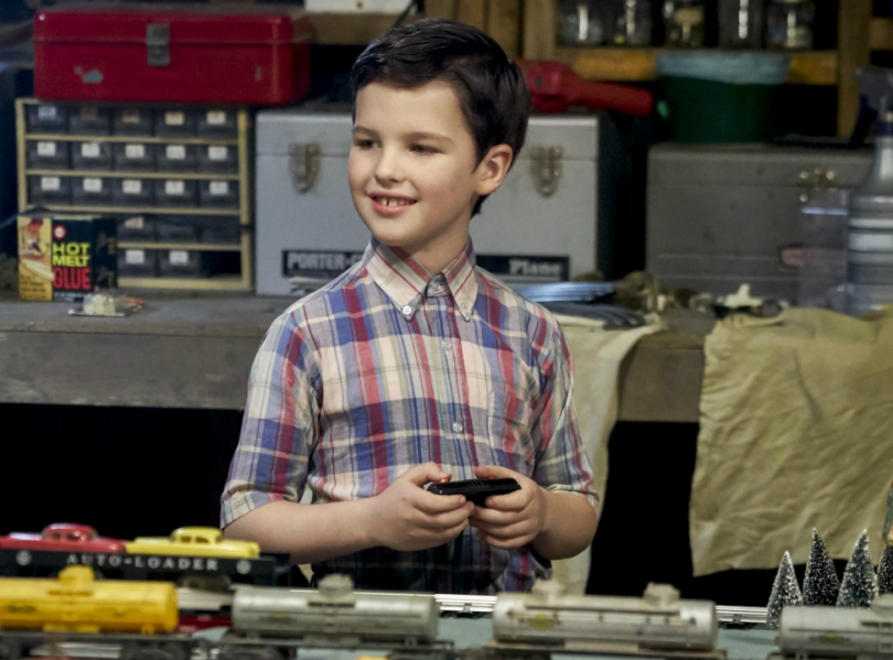 Young Sheldon is revealed!