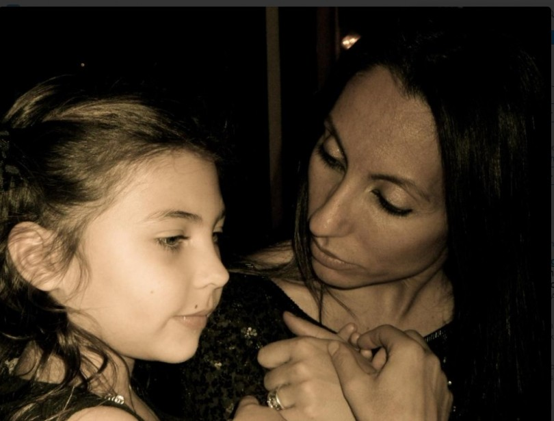 Chris Cornell's wife Vicky Karayiannis and their daugther Toni