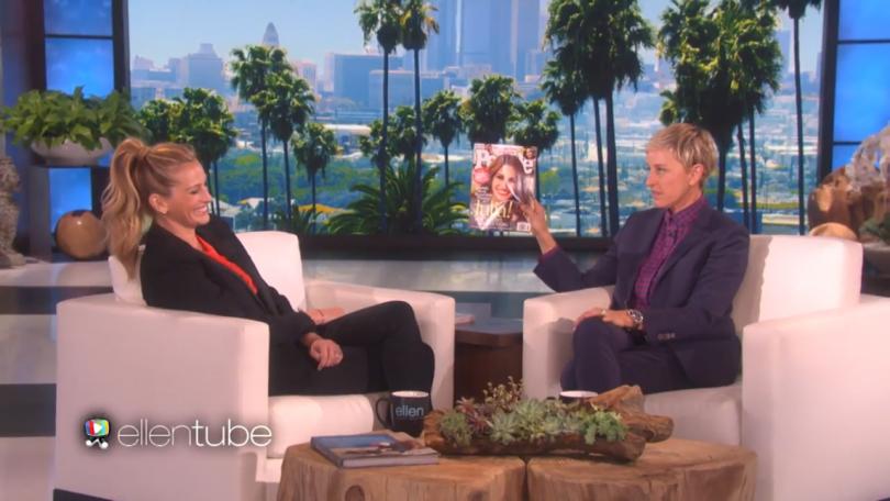 Julia Roberts On Ellen