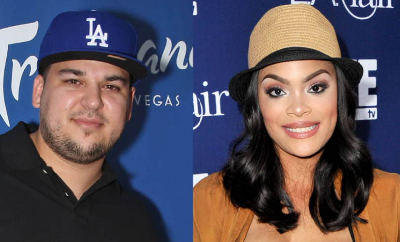 Rob Kardashian denies dating rumours with Mehgan James