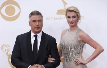 Alec Baldwin daughter Ireland 2013 Emmys