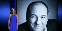 Edie Falco tribute to late actor James Gandolfini