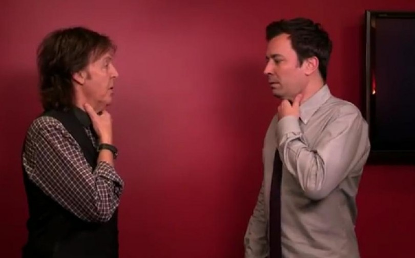 Late Night with Jimmy Fallon Feat. Paul McCartney