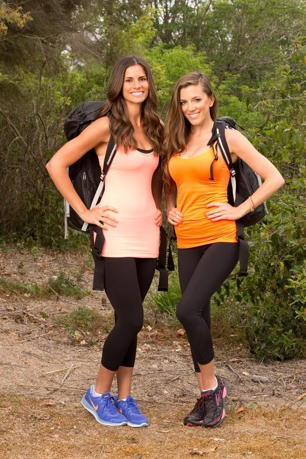 Nicky and Kim on 'The Amazing Race 23'
