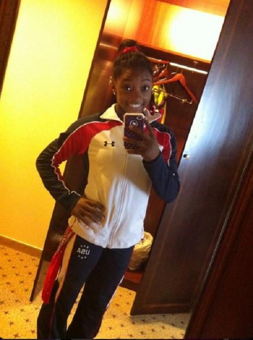 U.S. gymnast Simone Biles.