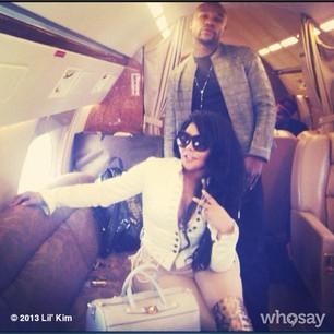 Lil Kim and Floyd Mayweater