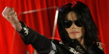 U.S. pop star Michael Jackson gestures during a news conference at the O2 Arena in London March 5, 2009.