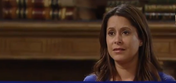 Robin desperately hoping she can see Patrick again soon on 'General Hospital'
