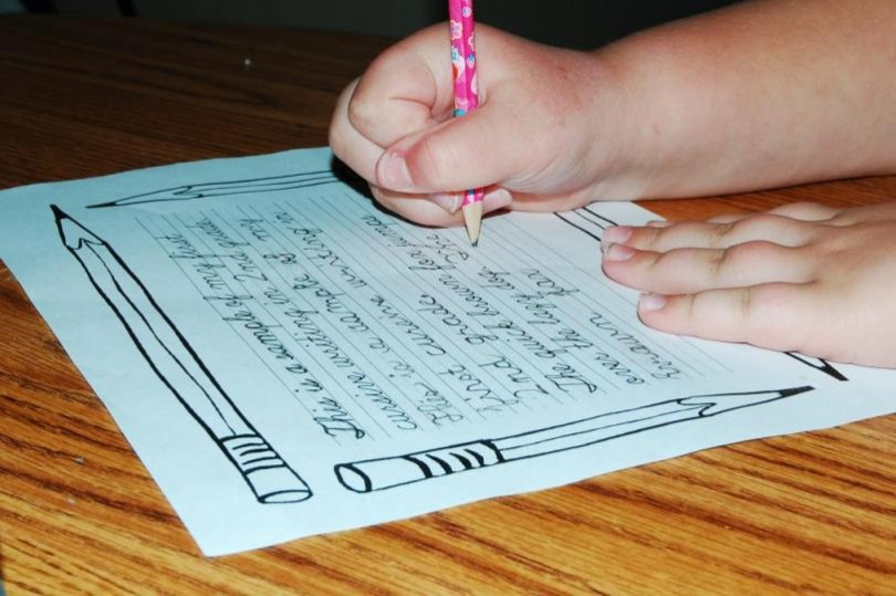 cursive writing in schools
