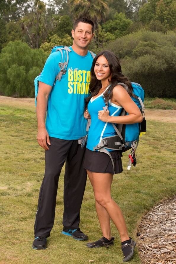Jason Case and Amy Diaz, the projected winners of 'The Amazing Race' Season 23