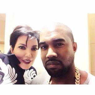 Kris Jenner & Kanye West