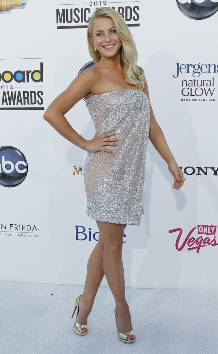 Julianna Hough at the 2012 Billboard Music Award