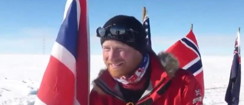 Prince Harry In Antarctica