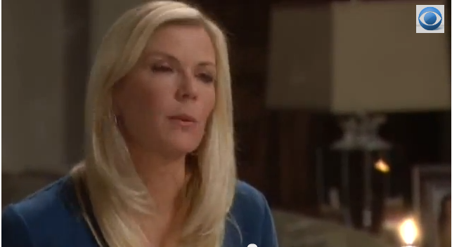 Brooke Prepares to tell Ridge about Bill on 'The Bold and the Beautiful'