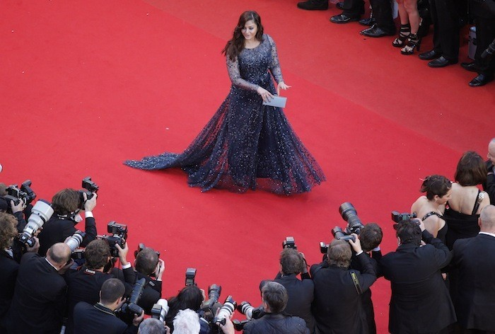 Aishwarya Rai at the 65th Cannes Film Festival / Reuters