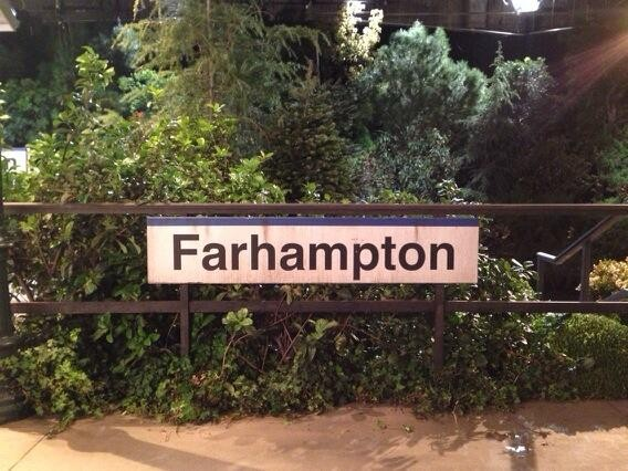 The Farhampton Train Station-some of the final scenes of 'How I Met Your Mother' were shot there