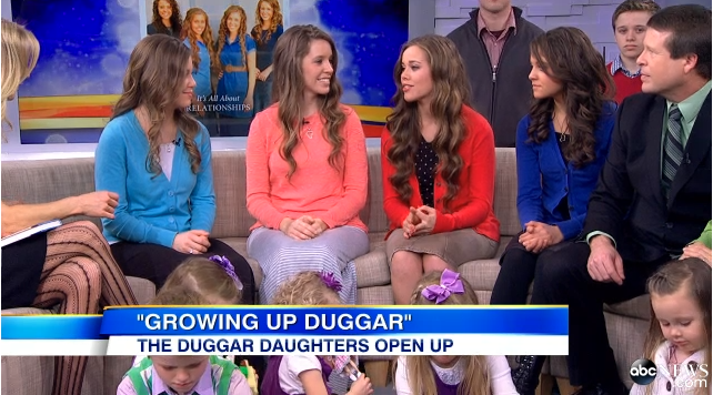 Duggar Family on GMA