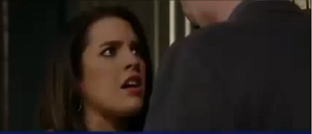 Kiki is shocked and scared by LUke's advances on her on 'General Hospital'