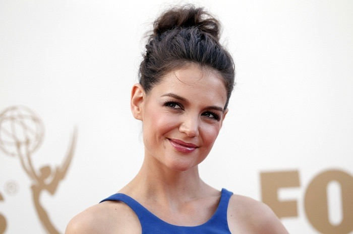 Actress Katie Holmes arrives at the 63rd Primetime Emmy Awards in Los Angeles September 18, 2011.