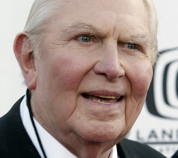 "Actor Andy Griffith, star of ""The Andy Griffith Show"" arrives for a taping of the second annual TV Land Awards in Hollywood March 7, 2004."