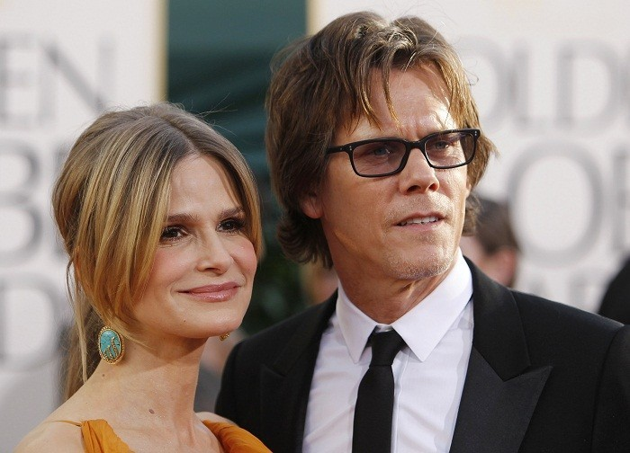 Actress Kyra Sedgwick and her husband, actor Kevin Bacon