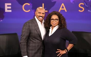 Oprah Winfrey, Steve Harvey