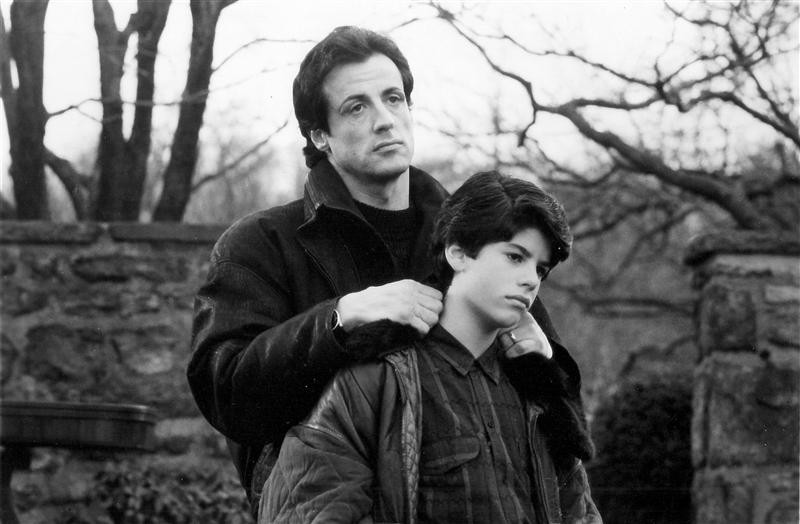 Sylvester Stallone and Sage Stallone